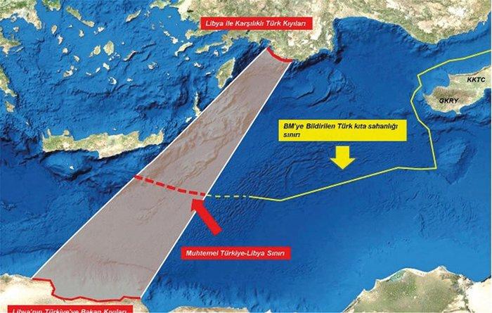 Ακάρ σε Λιβύη: Οι Έλληνες κλέβουν την ΑΟΖ σας [χάρτες[ - εικόνα 2