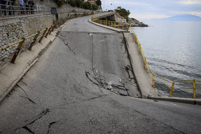 Καβάλα: Αναμένοντας το πόρισμα για την κατάρρευση της γέφυρας