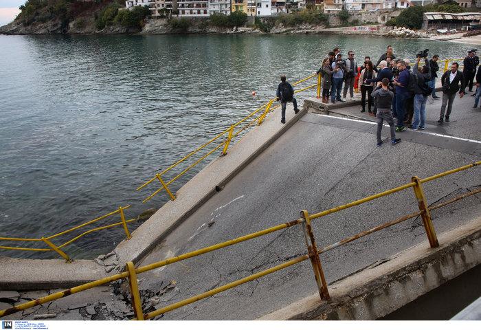 Καβάλα: Αναμένοντας το πόρισμα για την κατάρρευση της γέφυρας - εικόνα 2