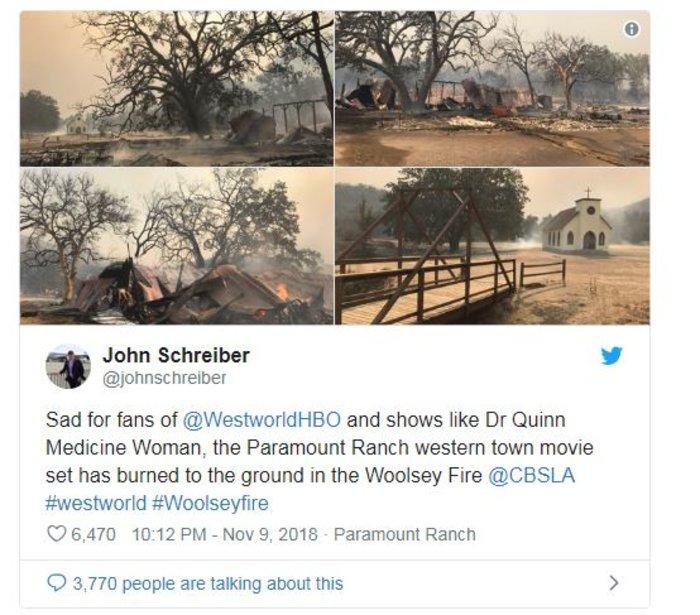 Πυρκαγιές Καλιφόρνια: «Διάσημα» σπίτια στις φλόγες
