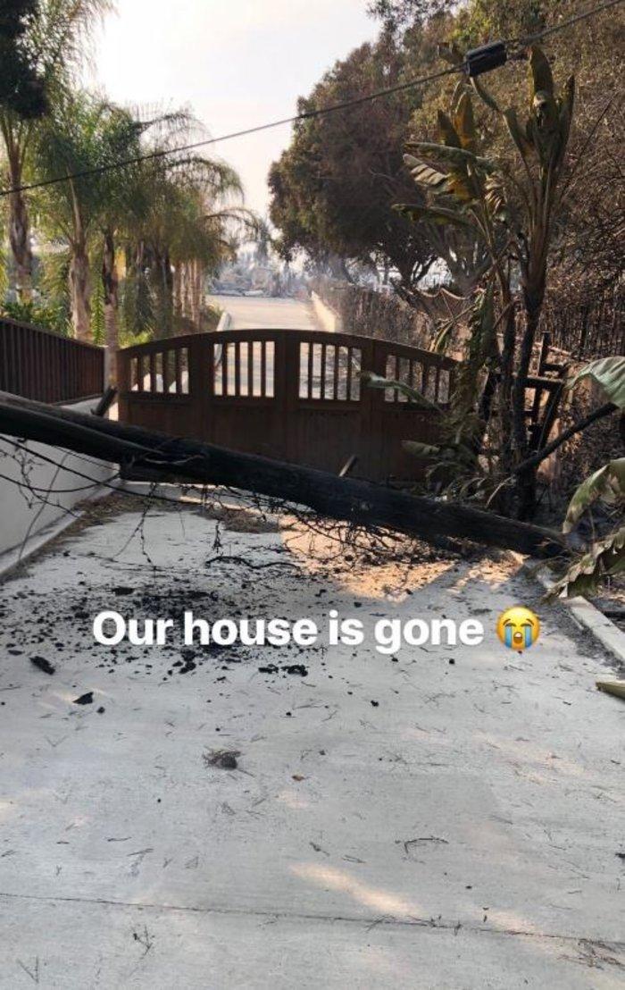 Πυρκαγιές Καλιφόρνια: «Διάσημα» σπίτια στις φλόγες - εικόνα 7
