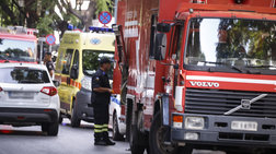 Γυναίκα πήδηξε από τον πέμπτο για να σωθεί από φωτιά στο σπίτι της