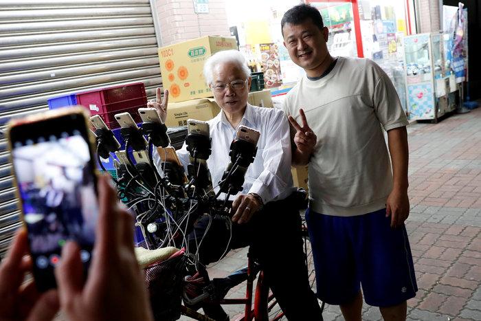 """Ο """"παππούς των Πόκεμον"""" τα κυνηγάει στην Ταιβάν - εικόνα 2"""