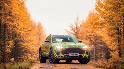 Το SUV της Aston Martin πήρε τα βουνά για να γυρίσει το πρώτο του βίντεο