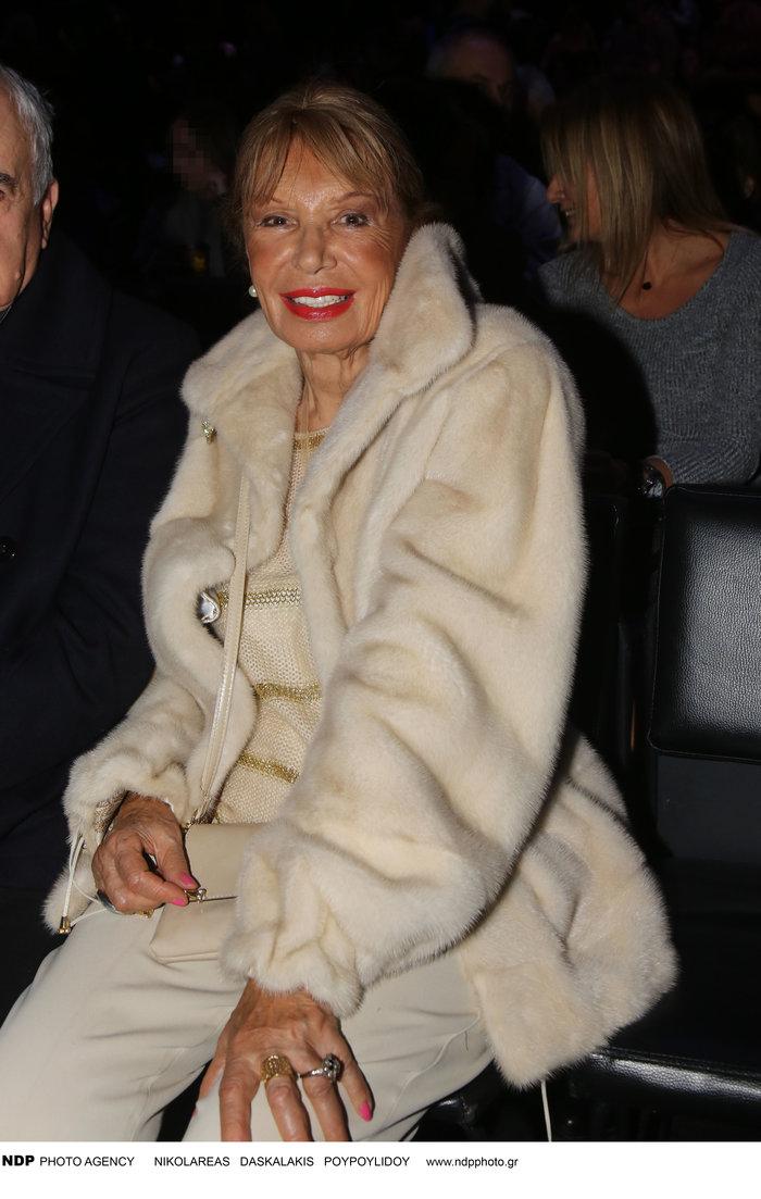 """Σπάνια εμφάνιση: Δείτε την """"αιώνια"""" καλλονή Ρίκα Διαλυνά στα 87 της χρόνια!"""
