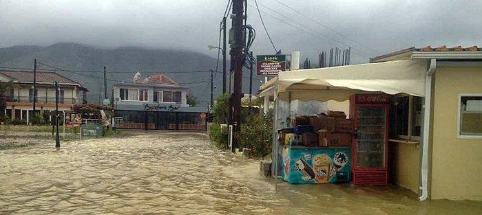 Πλημμύρισαν περιοχές της Ζακύνθου (φωτό και βίντεο) - εικόνα 2
