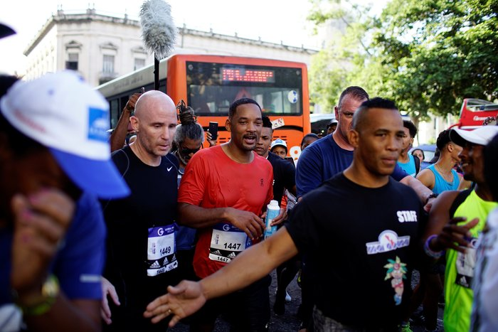 O Γουίλ Σμιθ έτρεξε σε μαραθώνιο στην Κούβα