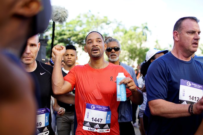 O Γουίλ Σμιθ έτρεξε σε μαραθώνιο στην Κούβα - εικόνα 2