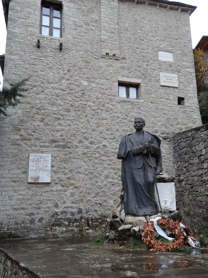 Η οικία του ποιητή Κώστα Κρυστάλλη που σήμερα είναι μουσείο