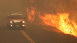 Ζίνκε: Ευθύνες σε περιβαλλοντολόγους για τις πυρκαγιές της Καλιφόρνιας