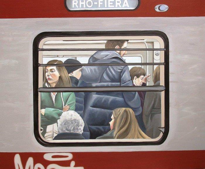 """Snapshots"" : Στιγμιότυπα της πόλης σε μια έκθεση ζωγραφικής - εικόνα 2"
