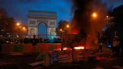 """Μακρόν: """"Ντροπή"""" στους αυτουργούς των βίαιων επεισοδίων"""