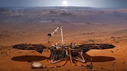 Με επιτυχία η προσεδάφιση του Insight στον Άρη [βίντεο]
