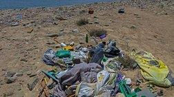 Αποτσίγαρα, καλαμάκια και μωρομάντηλα «αποτυπώματα» στις ακτές