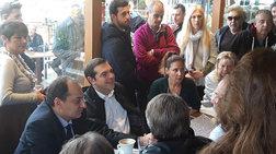 Επίσκεψη Τσίπρα στο Μάτι και συνάντηση με πυρόπληκτους