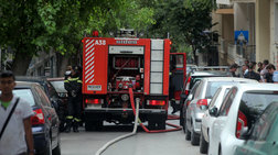 Φωτιά σε διαμέρισμα στο Μαρούσι - απεγκλωβίστηκαν τρία άτομα