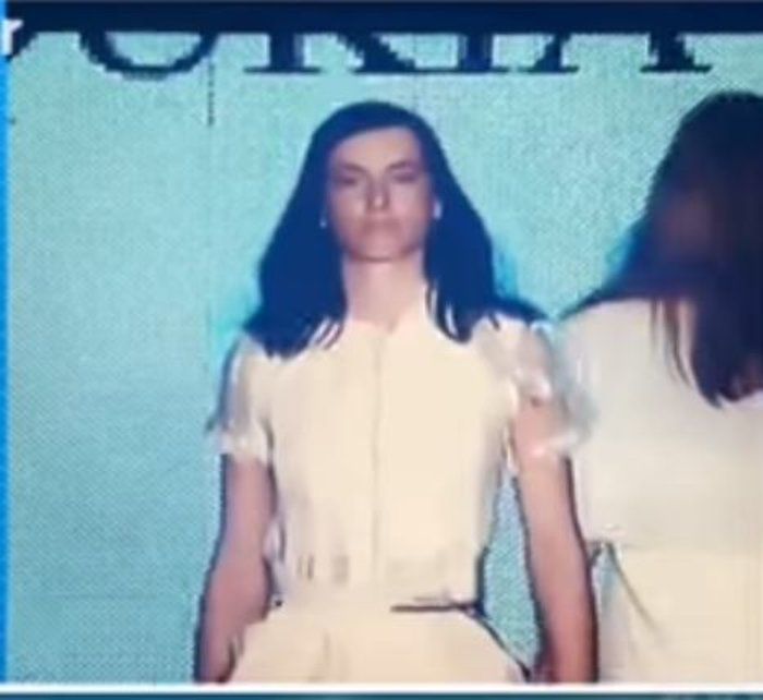 Αγνώριστη ως μοντέλο στην πασαρέλα πριν χρόνια η Ζενεβιέβ του GNTM [Βίντεο]