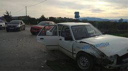 Τέσσερις τραυματίες σε τροχαίο στο Ναύπλιο