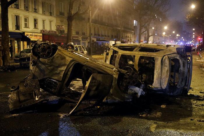 Επεισόδια στο Παρίσι: Ρεκόρ με 412 συλλήψεις και 133 τραυματίες - εικόνα 3