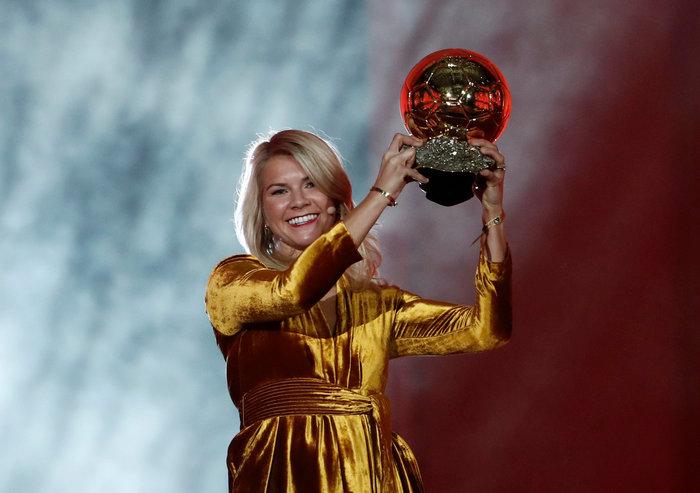 Άντα Χέγκερμπεργκ: Η πρώτη γυναίκα που κέρδισε τη «Χρυσή Μπάλα»