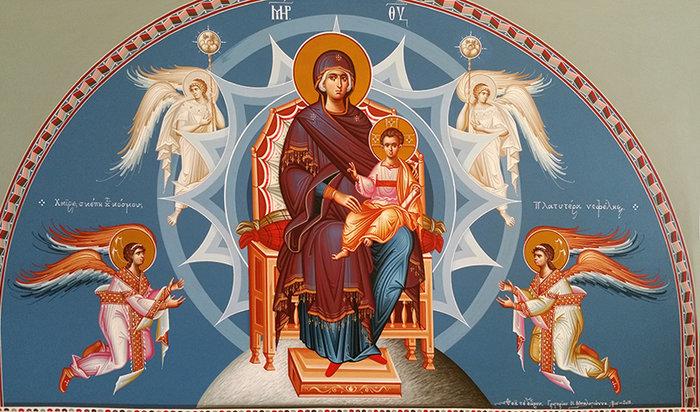Το έργο του αγιογράφου Γ. Μπαλογιάννη στο Βυζαντινό Μουσείο - εικόνα 2