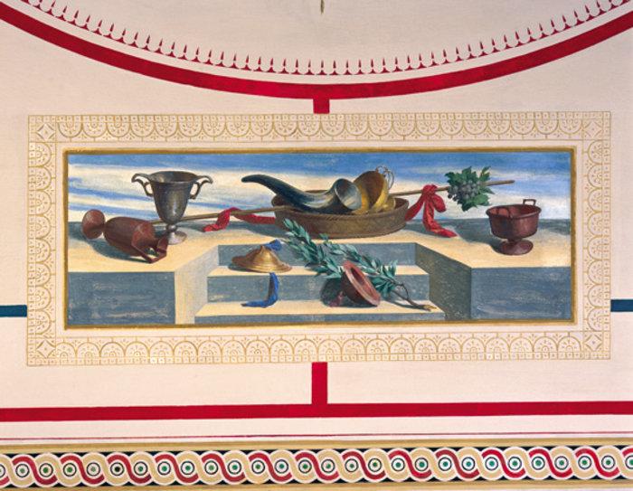 Όταν ο Σλοβένος Γιούρι Σούμπιτς ζωγράφισε το Μέγαρο του Σλήμαν - εικόνα 3