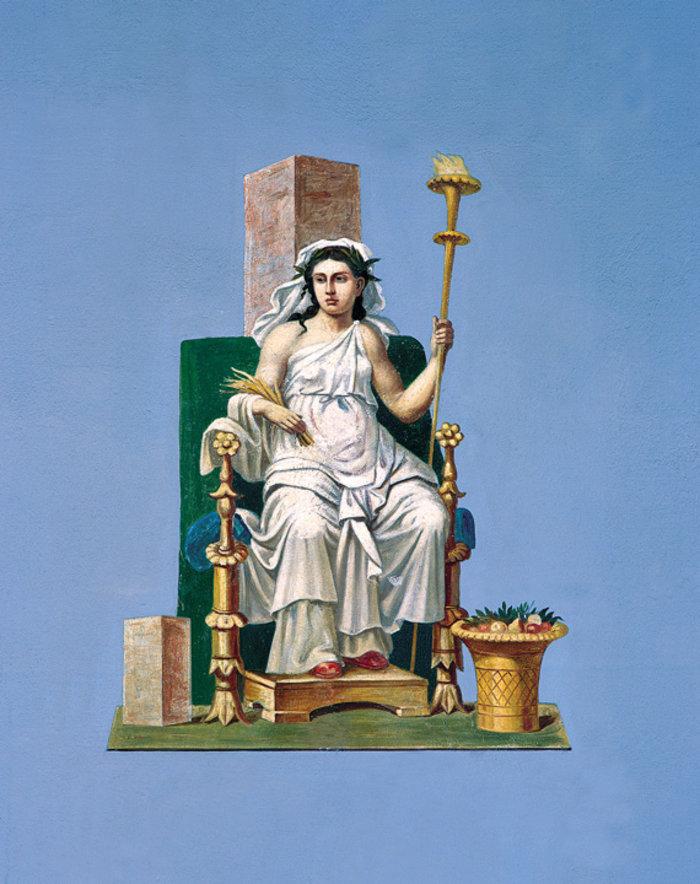 Όταν ο Σλοβένος Γιούρι Σούμπιτς ζωγράφισε το Μέγαρο του Σλήμαν - εικόνα 5