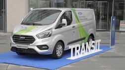 Δοκιμές του Ford Transit Plug-In Hybrid Van στην Κολωνία