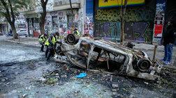 Μεγάλες καταστροφές στα Εξάρχεια μετά τα επεισόδια [φωτογραφίες]