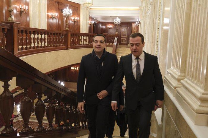 Σε εξέλιξη συνάντηση Τσίπρα - Μεντβέντεφ στην Μόσχα - εικόνα 4