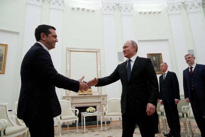 Σε εξέλιξη η συνάντηση Τσίπρα - Πούτιν στο Κρεμλίνο - εικόνα 2