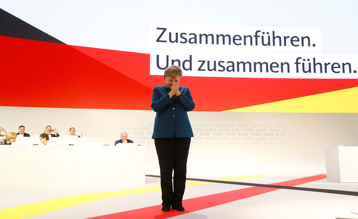 Συγκίνηση στην τελευταία ομιλία της Μέρκελ ως προέδρου του CDU - εικόνα 2