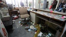Εικόνες καταστροφής στη Θεολογική Σχολή του ΑΠΘ