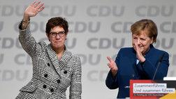 Γερμανία: Μέρκελ τέλος από το CDU, νέα πρόεδρος η Καρενμπάουερ