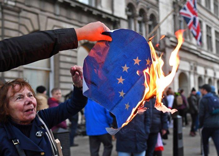 Διαδηλώσεις υπέρ και κατά του Brexit στο Λονδίνο - εικόνα 2