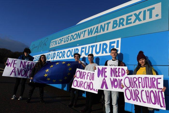 Διαδηλώσεις υπέρ και κατά του Brexit στο Λονδίνο - εικόνα 3