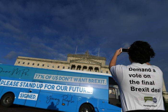 Διαδηλώσεις υπέρ και κατά του Brexit στο Λονδίνο - εικόνα 4