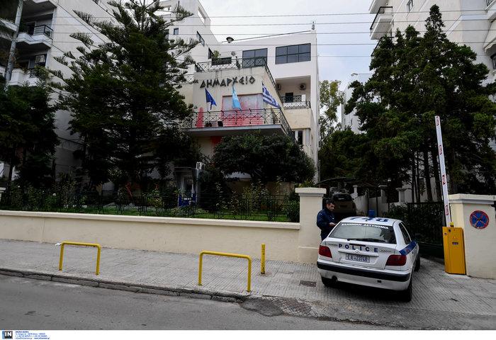 Καταδρομική επίθεση Ρουβίκωνα στο δημαρχείο Αλίμου [video- φωτό] - εικόνα 4