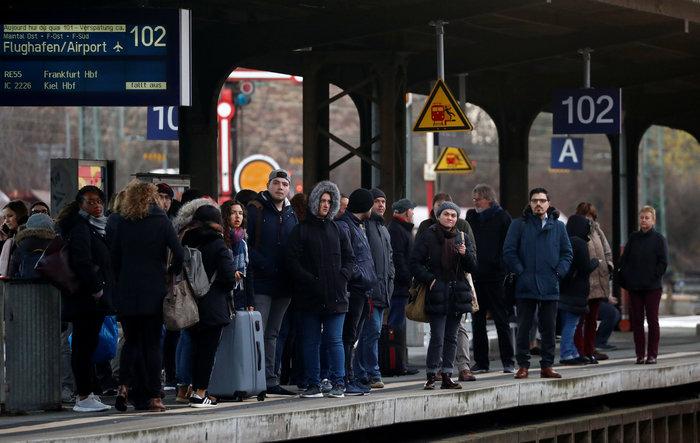 Χάος από την απεργία στους γερμανικούς σιδηροδρόμους