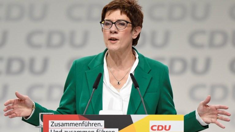 Γκρίνιες στο CDU μετά την εκλογή της Κάρενμπαουερ