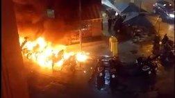 Το βίντεο της επίθεσης στα ΜΑΤ στην Καισαριανή