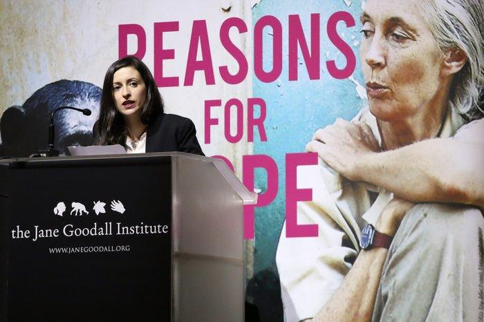 Η πρέσβειρα Ειρήνης των Εθνών Dr. Jane Goodall στην Ελλάδα - εικόνα 7