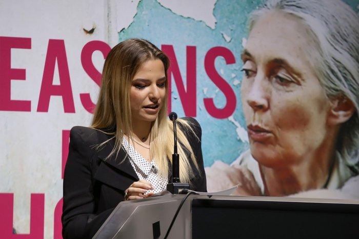 Η πρέσβειρα Ειρήνης των Εθνών Dr. Jane Goodall στην Ελλάδα - εικόνα 3