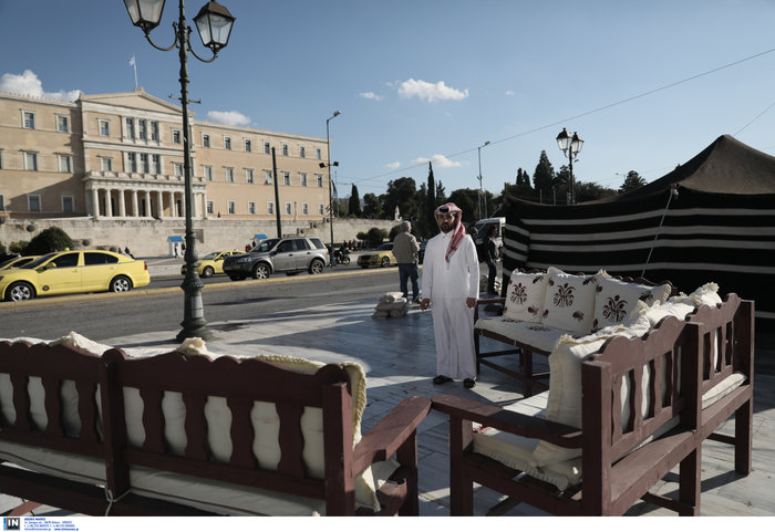 Εθνική γιορτή του Κατάρ: H τέντα της ερήμου στήθηκε στο Σύνταγμα - Εικόνες - εικόνα 10