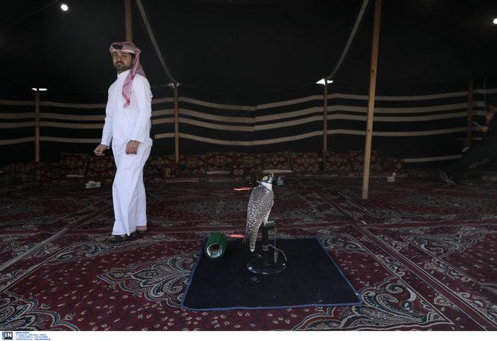 Εθνική γιορτή του Κατάρ: H τέντα της ερήμου στήθηκε στο Σύνταγμα - Εικόνες - εικόνα 7