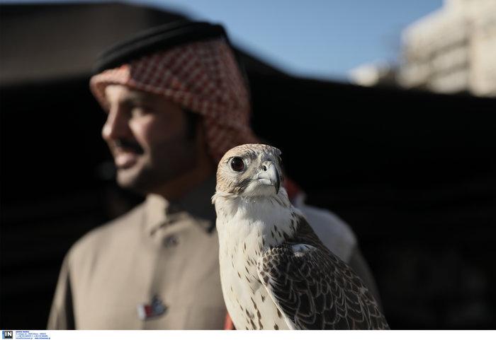 Εθνική γιορτή του Κατάρ: H τέντα της ερήμου στήθηκε στο Σύνταγμα - Εικόνες - εικόνα 5