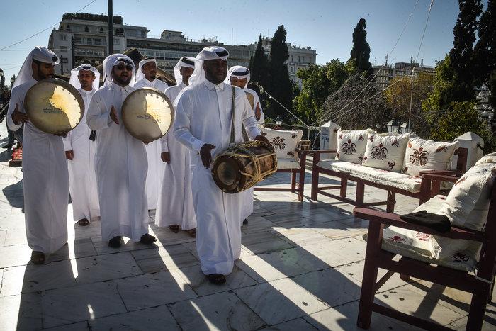 Εθνική γιορτή του Κατάρ: H τέντα της ερήμου στήθηκε στο Σύνταγμα - Εικόνες - εικόνα 2