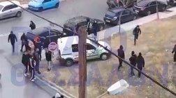 Συμπλοκές έξω από το ΕΠΑΛ Καλαμαριάς-Τραυματίστηκε 16χρονος (Vid}