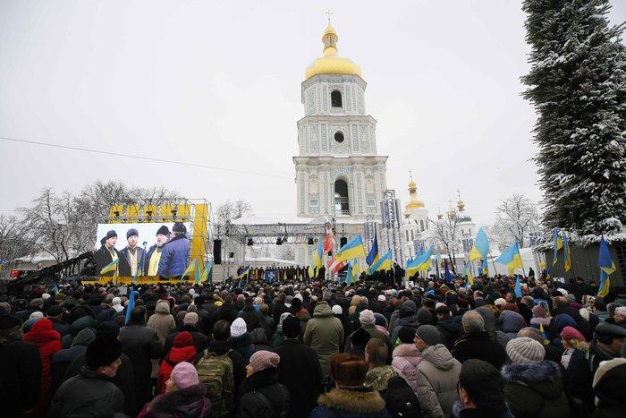 Αυτοκέφαλη η Εκκλησία της Ουκρανίας, επικεφαλής ο μητροπολίτης Επιφάνιος - εικόνα 3