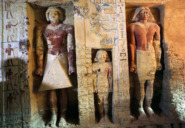 Σπουδαία ανακάλυψη τάφου 4.400 χρόνων στην Αίγυπτο - Εικόνες - εικόνα 2